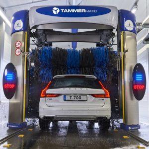 Lavagem automática multiprograma viaturas ligeiras