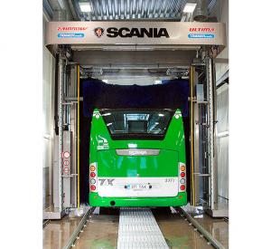 Lavagem automática multiprograma, viaturas pesadas e especiais