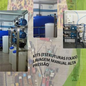 Kits de lavagem manual alta pressão fixos – Avematic
